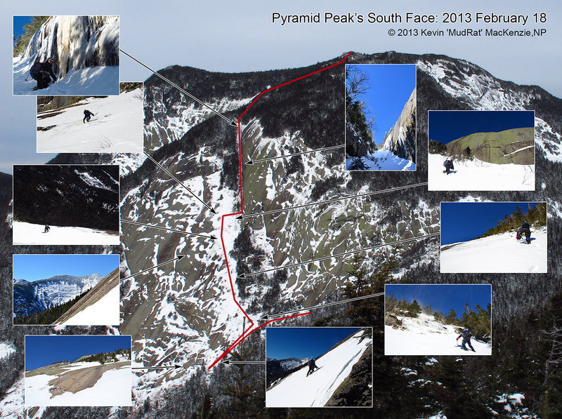 Pyramid Mt. South Face
