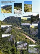 Rock Climbing Photo: Saddleback Mtn. South Slide