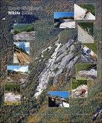 Rock Climbing Photo: Upper Wolfjaw Mtn. White Slide