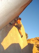 Rock Climbing Photo: TailGunner - Joshua Tree