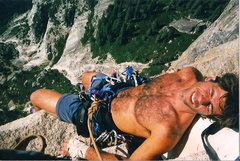 Rock Climbing Photo: Big Sandy - Half Dome NWF regular route
