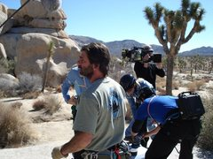 Rock Climbing Photo: MTV Road Rules rigging/guide JT
