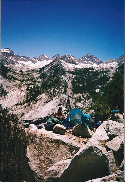 Charlotte Dome Area Bivy - High Sierras
