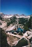 Rock Climbing Photo: Charlotte Dome Area Bivy - High Sierras