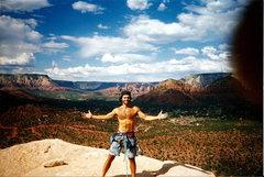 Rock Climbing Photo: Sedona AZ - Top of the Mace