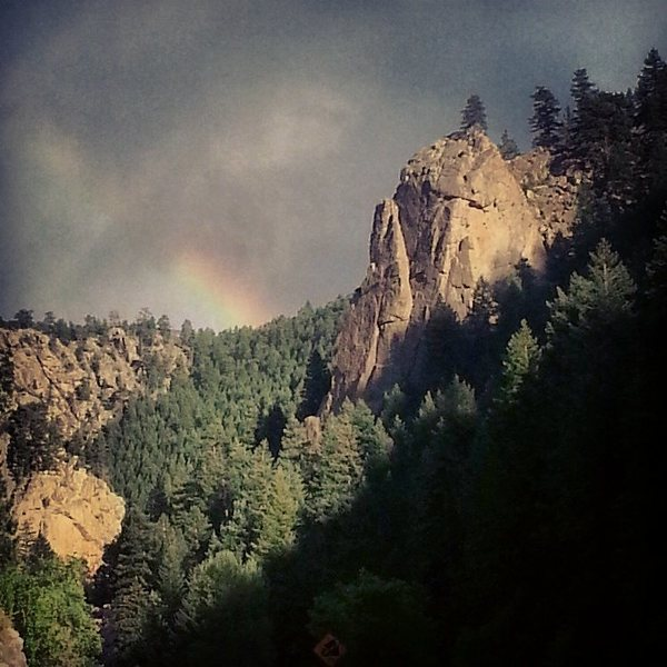 Rock Climbing Photo: Cob Rock.