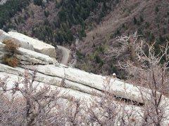Rock Climbing Photo: Little Cottonwood Canyon - Tingey's Terror