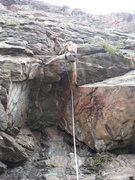 "Rock Climbing Photo: Opening moves on ""Tsunami Of Charisma"", ..."