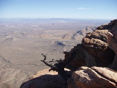 Rock Climbing Photo: View from the summit of Windy Peak, Red Rocks, Nev...