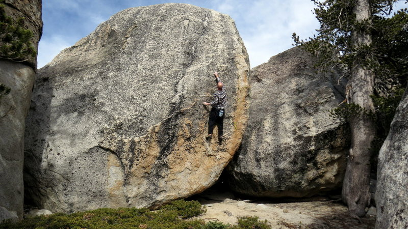 Rock Climbing Photo: Rock quality = XL