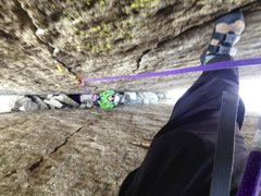 """Rock Climbing Photo: but with a """"heart of darkness"""" (J-tree) ..."""