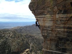 Everyone from AZ has to have this classic shot of climbing Steve's Arete, Mt. Lemmon