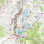 Rock Climbing Photo: Topo Map