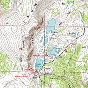 Rock Climbing Photo: Topo Map