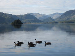 Rock Climbing Photo: Derwentwater ,Looking down the Borrodale Vally