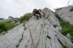 Pitch 1 Swiss Arete on The Guardian
