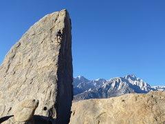 Rock Climbing Photo: Shark's  Fin