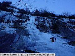 Rock Climbing Photo: Chris Lee on P1.