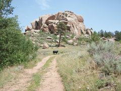 Rock Climbing Photo: The Maze.