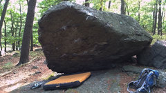 Rock Climbing Photo: Beached Whale Boulder.