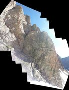 "Rock Climbing Photo: The route ""Jack Mormon"" on The Seldom Se..."