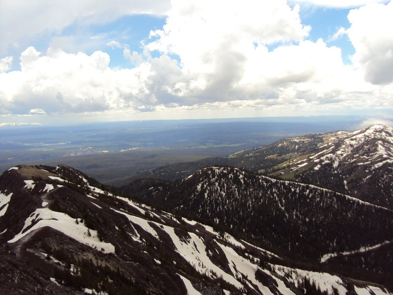 Rock Climbing Photo: Mt. Washburn on an unsettled day