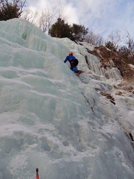 Rock Climbing Photo: Adirondack ice