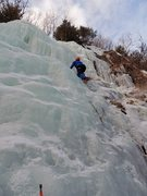 Rock Climbing Photo: Adirondack ice