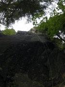 Rock Climbing Photo: Space Face (5.10c)