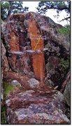 Rock Climbing Photo: Frank Tree problem beta.