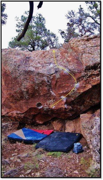 Rock Climbing Photo: Ocean Panty problem beta.