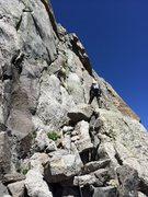 Rock Climbing Photo: Howard Snell and Bill S heading up the start of Ea...