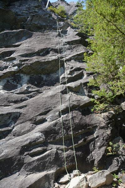 Rock Climbing Photo: Eb-2 (5.8)