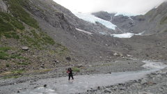 Rock Climbing Photo: The river crossing is not bad at all. on the way i...