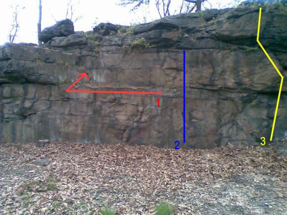 Rock Climbing Photo: Area 1