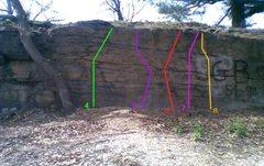 Rock Climbing Photo: Area 2