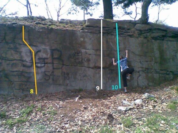 Rock Climbing Photo: Area 3