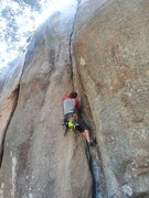 Rock Climbing Photo: Getting started on Owl Crack
