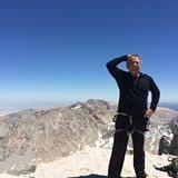 climbing with Zach Schneider
