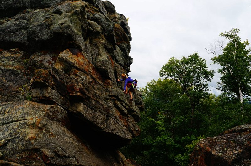 Rock Climbing Photo: East Face (August 2014)
