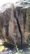 Rock Climbing Photo: River Chimney.