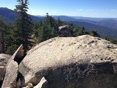 Rock Climbing Photo: Exfoliation in action, Black Mountain