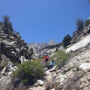 Rock Climbing Photo: Full day hike/approach to Mt Whitney