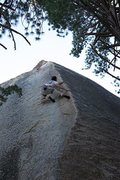 Rock Climbing Photo: Over the Rainbow (5.13), Black Mountain