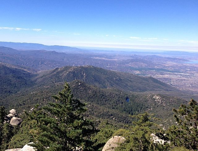 Looking south from the fire lookout, Black Mountain