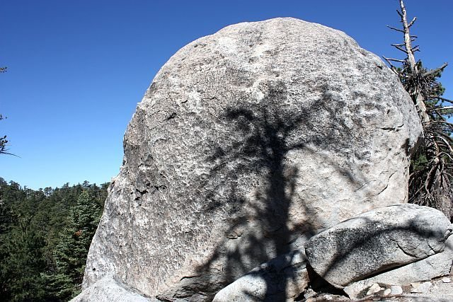 The Kong Boulder, Black Mountain