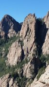 The Castle formation north of Muralla Grande