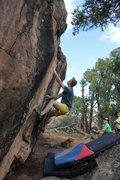 Rock Climbing Photo: Nick on Post War Dream.