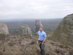 Rock Climbing Photo: Summit photo looking back toward the approach road...