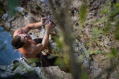 Rock Climbing Photo: Joe. Drifter (12A)